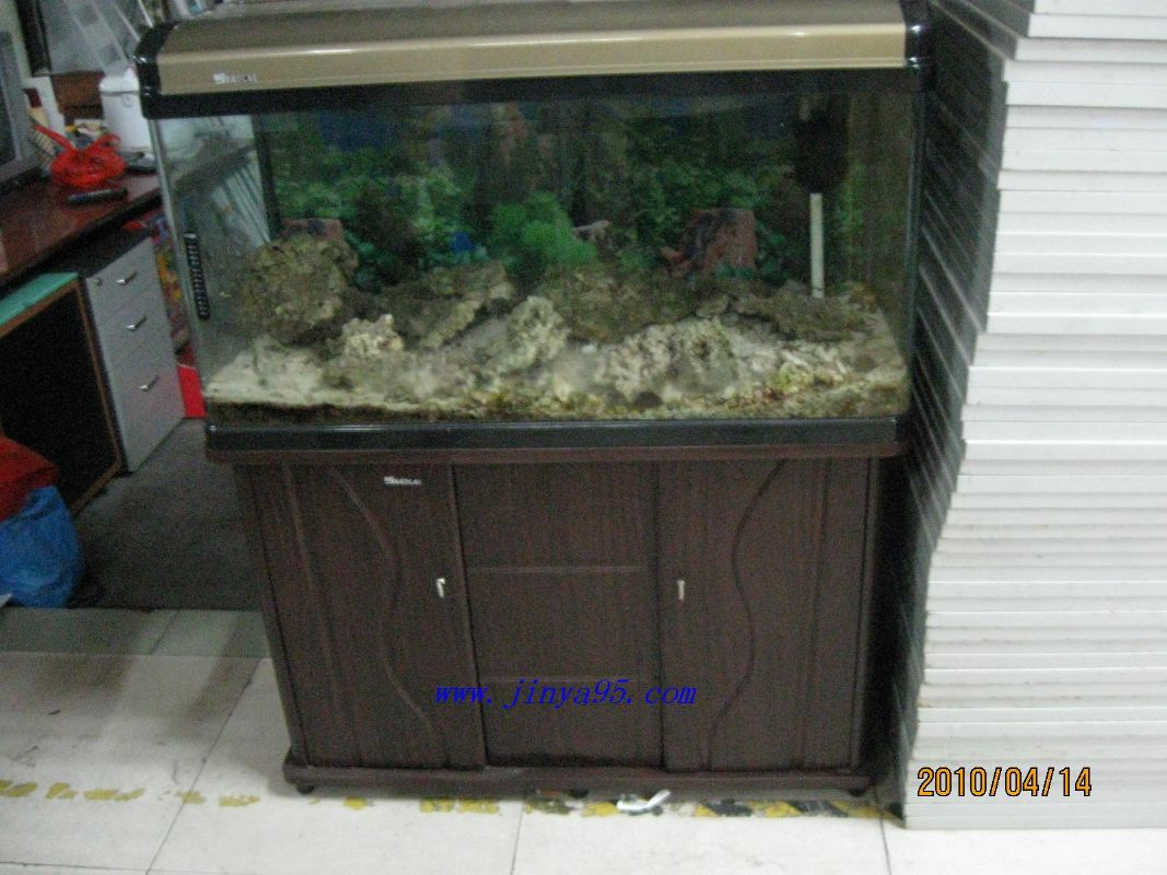 1米鱼缸出售带个外置过滤器